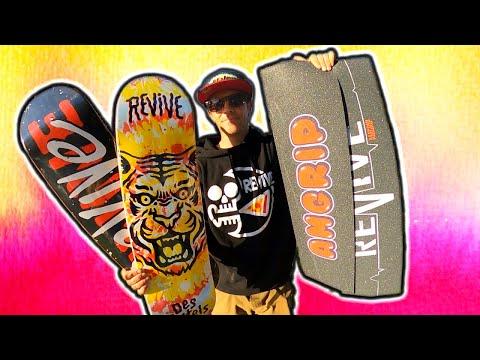 Revive Skateboards Griptape?!?!