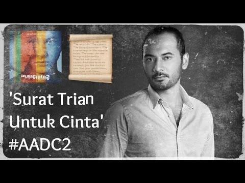 download lagu Surat Trian Untuk Cinta #AADC2 gratis