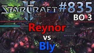 StarCraft 2 - Replay-Cast #835 - Reynor (Z) vs Bly (Z) - WCS Montreal [German]