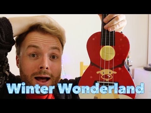 Walking In A Winter Wonderland - CHRISTMAS UKULELE TUTORIAL