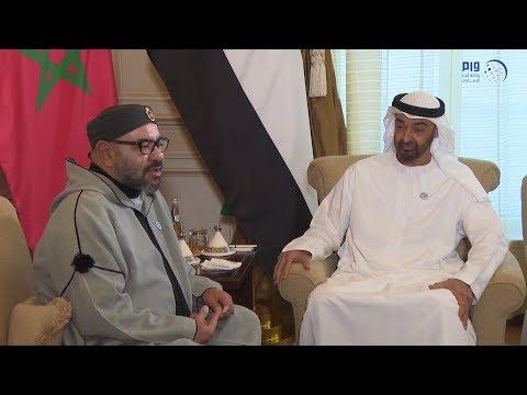 محمد بن زايد يستقبل محمد السادس  ويبحثان العلاقات الأخوية