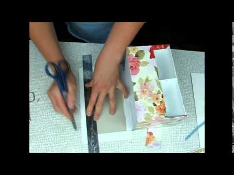 Комод из картона - подарок своими руками