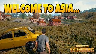 So I played on an Asian PUBG Server...