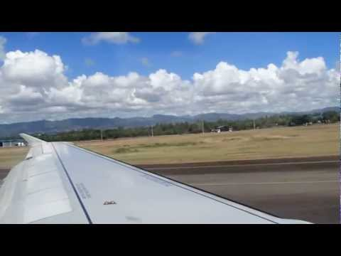 Philippine Airlines Flight 846 Taking Off Mactan Cebu International Airport