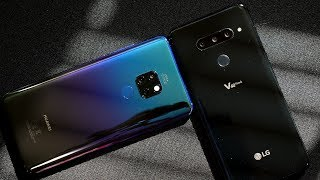 Huawei Mate 20 vs LG V40 Thinq / Camera Comparison