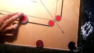 Innovative Punch Carrom shot |ADITYA PADAWE|