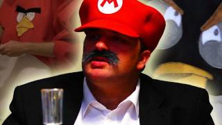 Mario Takes Out Angry Birds (Godfather Parody) - TGS