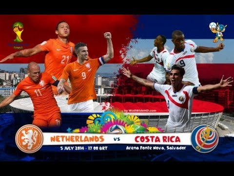 Costa Rica vs Netherlands World Cup 2014 Promo Knockout Round Hype Video