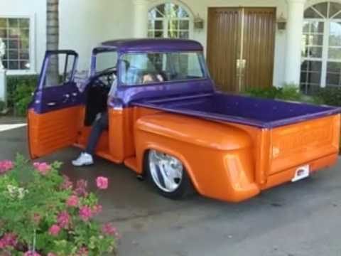 1955 Chevy Truck, Full Custom, Barrett-Jackson, SOLD! Music Videos