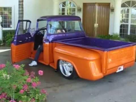 Custom Paint Jobs on Chevy Trucks 1955 Chevy Truck Full Custom