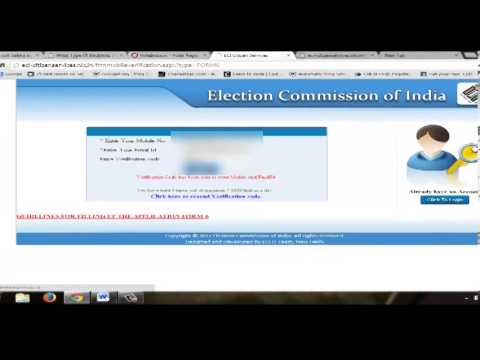 How to Make Voter Card online for Lok Sabha Elections 2014