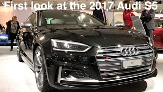First look at the 2017 Audi S5