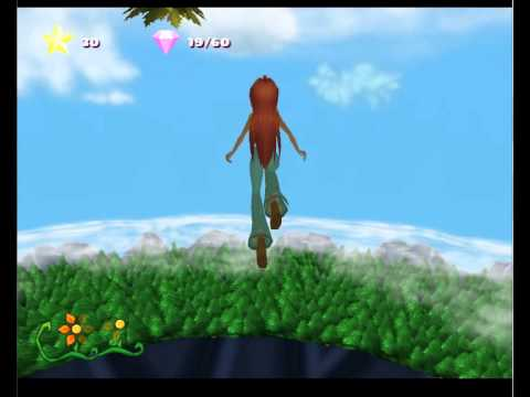 Winx Club (PS2) - glitches and observations 2012 pt. 1