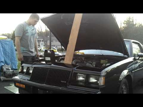 1987 Buick Grand National First start in ten years