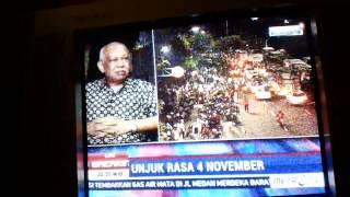 PEMBERITAAN METRO TV TENTANG AKSI BELA ISLAM 411