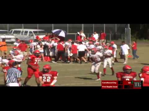 Carrollwood Day School Football Patriots vs Faith Baptist