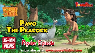 Jungle Book Hindi Cartoon for kids | Junglebeat | Mogli Cartoon Hindi | Pavo The Peacock