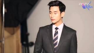 [ENGSUB] 140826 Kim Soo Hyun - Ziozia Fall 2014 Interview BTS