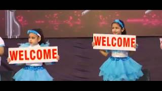 Welcome Song || Dance by small kids || Ishmeet Singh Music Institute