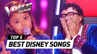 Download Lagu The Voice Kids | BEST DISNEY SONGS in The Blind Auditions [PART 2] Gratis STAFABAND