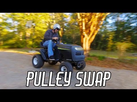 Racing Mower Build: More SPEED Pt. 1