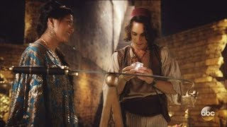 Once Upon A Time 6x05 Jasmine Aladdin in Cave of Wonders