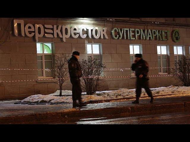 Russia: suspect held over St Petersburg supermarket blast