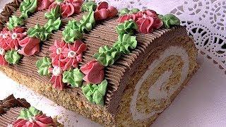 """Торт """"Сказка"""",любимый с детства."""