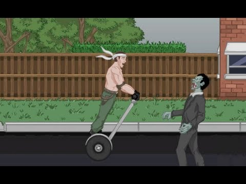 SEGWAY OF THE DEAD: (STRANGE ASS GAMES)