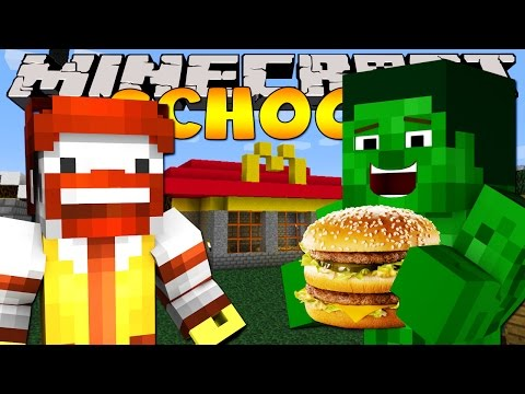 Minecraft School : TRIP TO MCDONALDS!