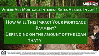 Where Are Mortgage Interest Rates Headed In 2019