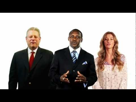 Gore, Gisele Bundchen and Yumkella on Energy for All