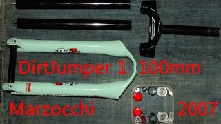 MARZOCCHI Dirt Jumper 1 fork service and how it works 1 - MARZOCCHI