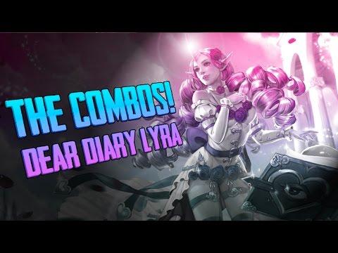Vainglory Skins - Dear Diary Lyra!! Lyra |CP| Lane Gameplay [Update 1.22 ]