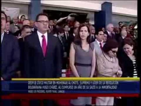 COMPLETO: Desfile Cívico Militar en honor al Comandante Hugo Chávez, 1er aniversario de su partida