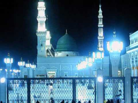 Aye Sabz Gumbad Wale- Mushtaq Qadri Attari video