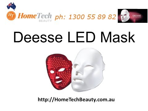 LED Red Light Therapy - Deesse Mask Skin Rejuvenation Treatment Device