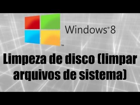 Windows 8 - Limpeza de disco (limpar arquivos de sistema)