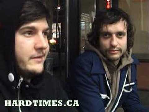 Embrace The End Video Interview HARDTIMES.CA Video