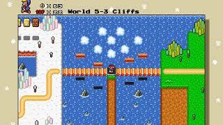 Super Mario Bros. X 1.4.4 - Super Mario Bros. Special Remastered - World map