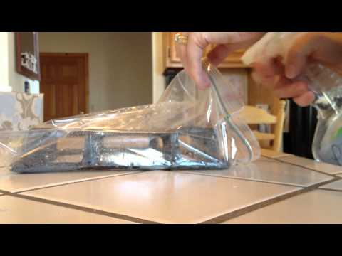 Como Limpar A Grelha Do Fogão Usando Um Saco Plástico!