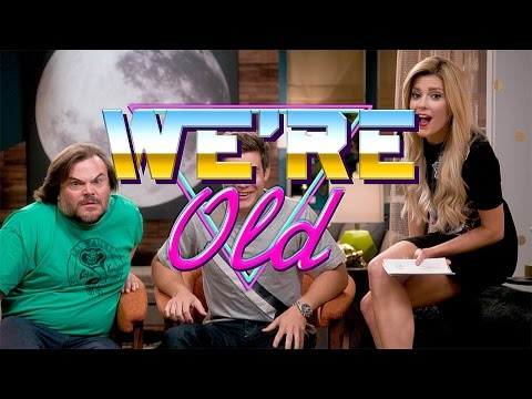 WE'RE OLD w/ JACK BLACK & ADAM DEVINE // Grace Helbig