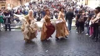 Dancing in Rome