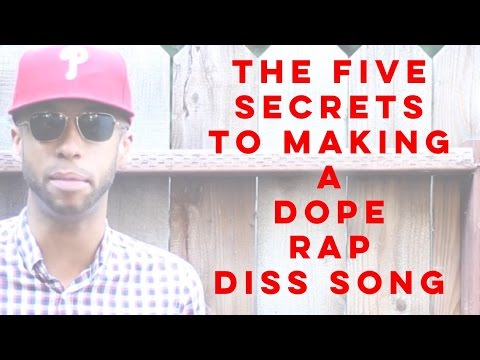 How To Make A Rap Diss Song In 10 Minutes