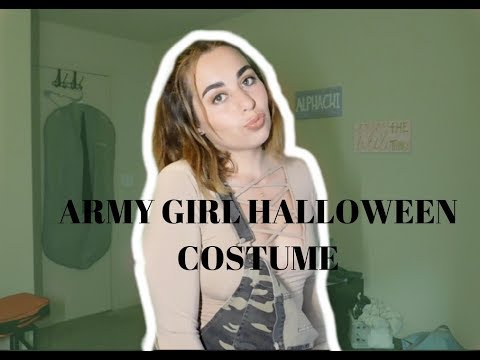 HALLOWEEN ARMY GIRL // CALL OF BOOTY PARTY THEME LOOK! thumbnail