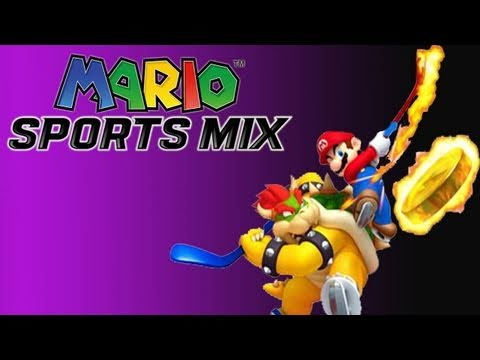 Gaming with the Kwings - Mario Sports Mix: Hockey Gameplay (HD)