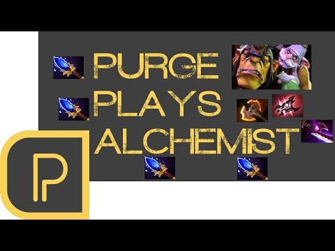 Dota 2 Purge plays Alchemist