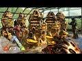 ARK Survival Evolved GIANT QUEEN BEE TAMING HONEY FARM ARK Ragnarok Gameplay mp3