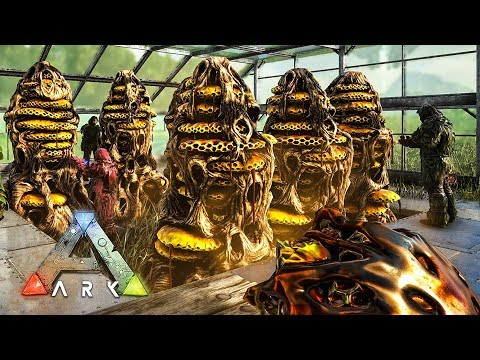 ARK: Survival Evolved - GIANT QUEEN BEE TAMING & HONEY FARM!! (ARK Ragnarok Gameplay)