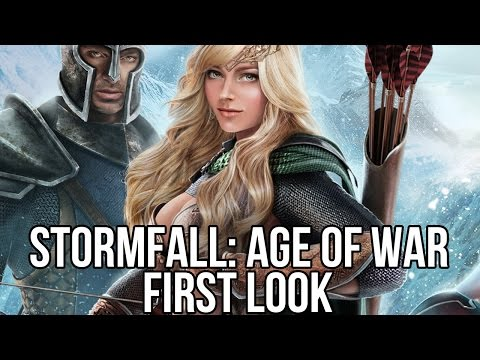 Stormfall: Age of War (Free MMORTS): Watcha Playin'? Gameplay First Look
